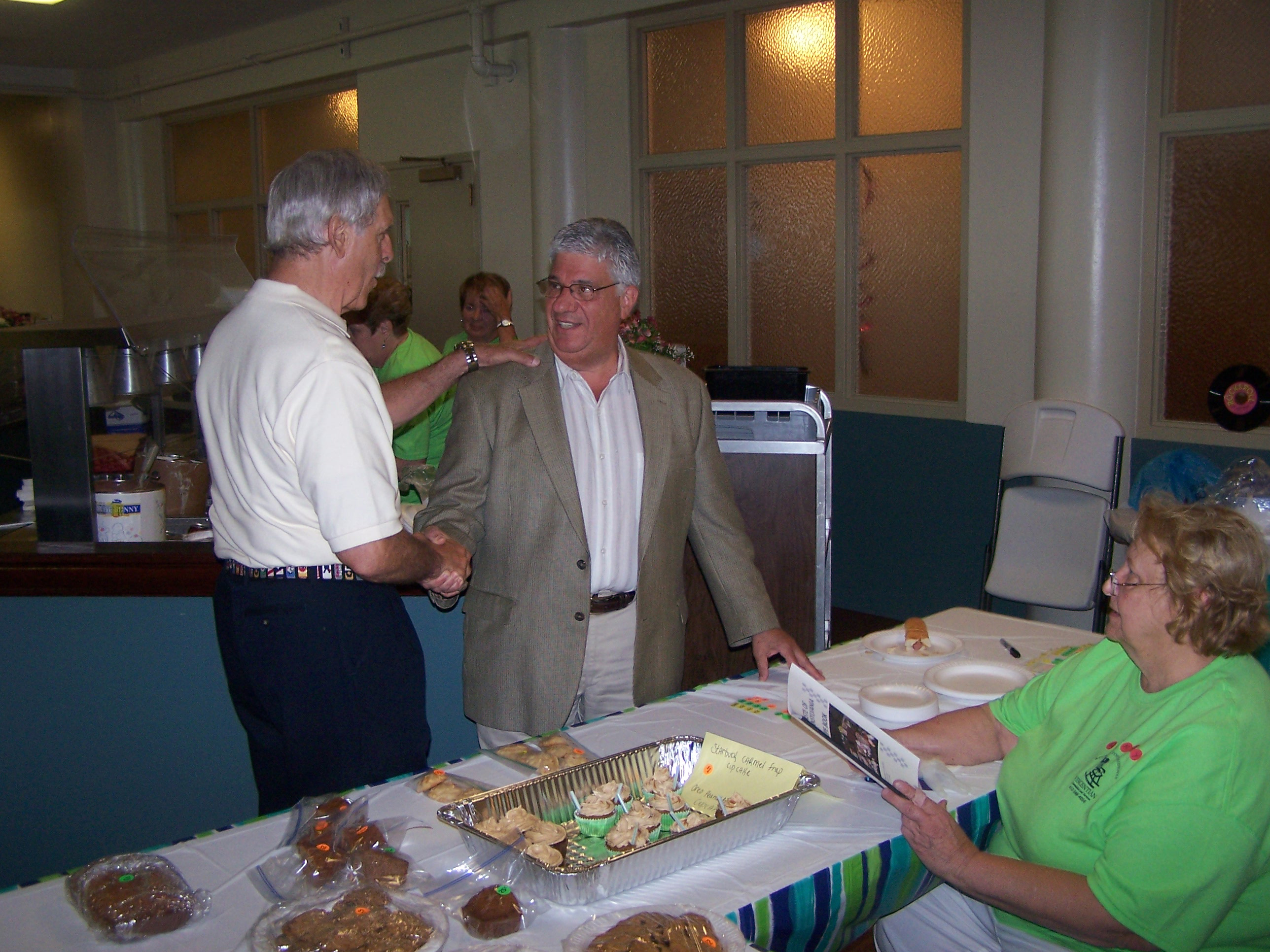June 21, 2014: Senator Fontana visited Marion Manor on Saturday, June 21st