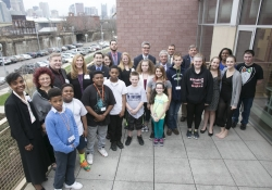 April 2015: I was proud to co-host an Afterschool Bus Crawl that highlighted the importance of afterschool programs and the terrific work being done in our region.  Allegheny County has some of the best afterschool programs in the country and attendees were given a unique and up close perspective on some of the programs available to children and families.
