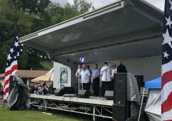 May 26, 2019: Senator Fontana presented Castle Shannon Borough with a citation recognizing the borough's 100th anniversary at their annual Community Day.