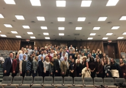 January 31, 2019: Senator Fontana addressed the Duquesne University School of Pharmacy students at the Allegheny County Pharmacists Association professional meeting on Jan. 31 at Duquesne University. Senator Fontana discussed issues related to the pharmacy profession and answered great questions from students following his remarks.