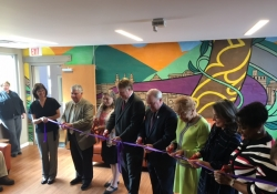 April 2017: Last week I attended and spoke at the grand opening of the Midwife Center for Birth and Women's Health expansion project at their location in the Strip District.