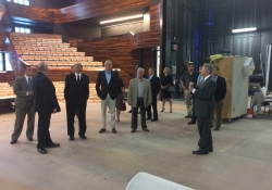 June  8, 2018: Senator Fontana joined Dr. Paul Hennigan, president of Point Park University, and several of his legislative colleagues on a special insider's tour of the school's new Pittsburgh Playhouse. T