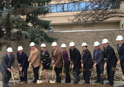 February 28, 2017: Senator Fontana participated in a groundbreaking ceremony for the Allegheny Health Network (AHN) Cancer Institute Academic Center at Allegheny General Hospital on the Northside.