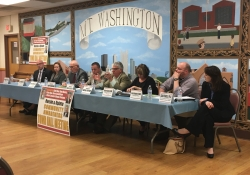 April 10, 2017: Together with Representatives Dan Deasy and Harry Readshaw, we hosted a Community Awareness Town Hall meeting on Mt. Washington to discuss ways to combat this epidemic.