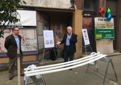 May 31, 2018: Senator Fontana gave remarks at the Perrysville Avenue Façade Renovation Kickoff Ceremony.