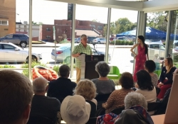 October 7, 2017: Senator Fontana presented the Carnegie Library of Pittsburgh, Beechview branch, with a citation from the Senate of Pennsylvania commemorating the library's 50th anniversary in Beechview.