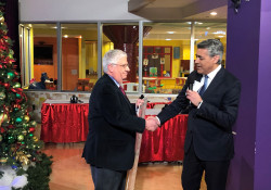 December 19, 2019: Senator Fontana appeared on the 66th annual KDKA Free Care Fund Benefit Show for UPMC Children's Hospital of Pittsburgh  to present a check for $5,000 to the Free Care Fund.