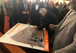 February 14, 2020: Senator Fontana spoke at a groundbreaking ceremony  for the Centre Avenue YMCA rehabilitation project. The 97-year old facility in the Hill District will be undergoing a major renovation. Senator Fontana was proud to support the $1.5 million RACP grant that is being used to help fund part of the project.