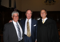August 14, 2012: Swearing in Ceremony for Judge Cozza