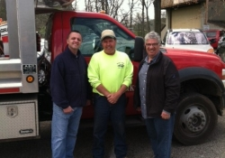 April 23, 2016: Senator Fontana with Representative Dan Deasy and Crafton Borough hosted a shred event on Saturday in the parking lot at Crafton Park. Senator Fontana is pictured here with Rep. Deasy and Joe Pittinaro from Crafton Public Works. Special thanks to Rep. Deasy and staff and Ann Scott and Joe Pittinaro with Crafton Borough on helping make a great event!