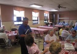 August 7, 2012: Seton Center Visit