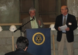 June 1, 2012: Senator Fontana speaks at a June 1st