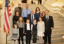 January 1, 2019: Senator Wayne Fontana is sworn in to represent the 42nd Senatorial District in the Pennsylvania Senate.