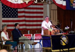 June 11, 2016: Senator Fontana attended the annual ceremony at the Allegheny Elks Lodge 339 on the Northside that pays tribute to Flag Day.