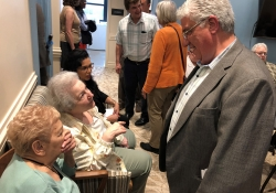 May 30, 2019: Senator Fontana spoke at the grand opening of the Morningside Crossing development. This project redeveloped the former Morningside School Building into senior housing and features a new community center and public plaza.