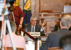 April 7, 2016: Senator Fontana joined colleagues at a Senate Democratic Policy Committee Meeting at the Pittsburgh City Council Chambers to hear testimony and discuss issues related to Opiate Addiction.