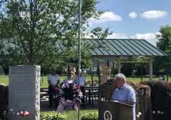 Senator Fontana participated in the Memorial Day ceremony Monday morning in Heidelberg Borough