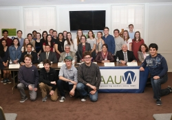 March 8, 2016: Senator Fontana participated in a legislative forum hosted by the Fox Chapel Area branch of the American Association of University Women (AAUW).