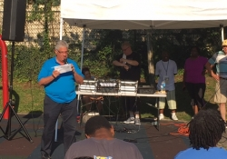 August 3, 2016: Senator Fontana attended National Night Out events in Garfield and Beechview. Over 50 Night Out events took place in neighborhoods throughout the City of Pittsburgh.