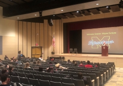 Last week, Senator Fontana visited with students at Avonworth Middle School and listened to their presentations and offered feedback on a project they have undertaken on the upcoming election. Senator Fontana also participated in a Town Hall Meeting last week at Montour High School with members of the Principal's Student Advisory Council, Student Council, seniors who are taking a Political Systems or American Politics course, and members of the school's Gay Straight Alliance.