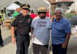 August 3, 2021: Senator Fontana visited National Night Out festivities in Sheraden and Beechview.