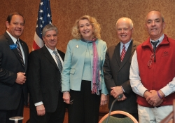 March 2011: Senator Fontana joined Greg Herb, Legislative Committee Chairman of the PA Association of REALTORS®, from the left, and Representatives Sue Helm, Dick Stevenson and Garth Everett at a panel discussion about the REALTORS®' Top 3 Legislative Issues. The panel was part of the REALTORS®' Public Policy & Political Affairs Seminar held in Harrisburg last Tuesday and Wednesday.