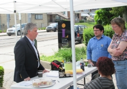 May 5, 2012: Senator Fontana visited the Carnegie Library of Pittsburgh, Beechview branch