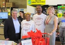 May 5, 2012: Senator Fontana visited the Market on Broadway IGA