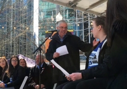 March 24, 2018: Senator Fontana participated in the March for Our Lives rally