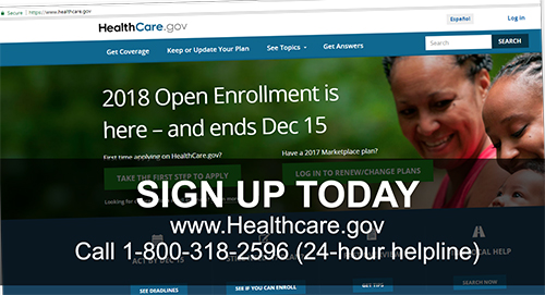 Sign Up Today for ACA Health Coverage
