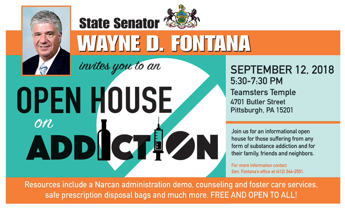 Addiction Open House