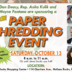 Shredding Event - October 13, 2018