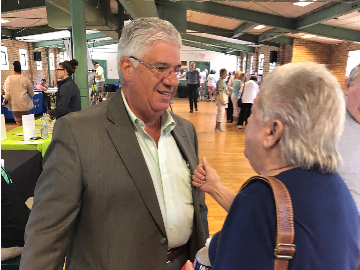 Senator Wayne Fontana - Senior Fair 2019