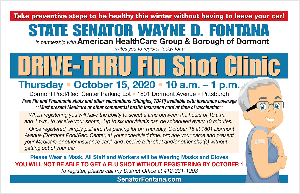 Drive-Thru Flu Shot Clinic