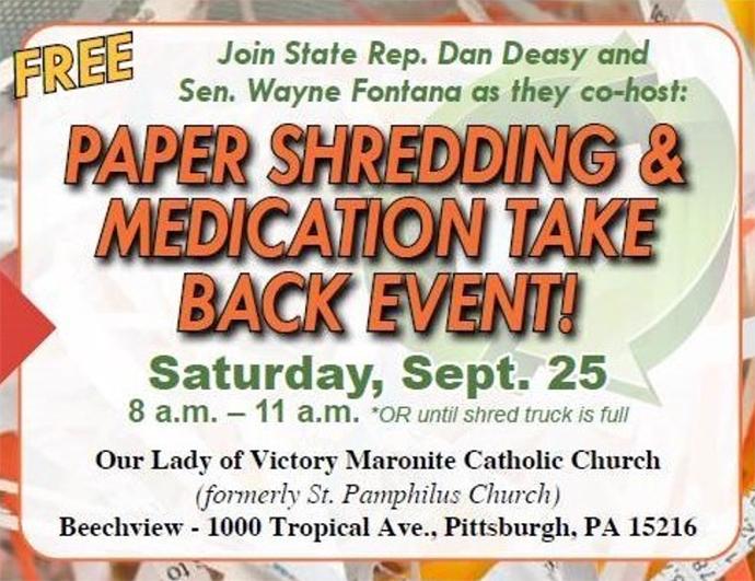 Shredding Event - September 25, 2021